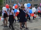 Сегодня во всех общеобразовательных учреждениях города прошли праздничные мероприятия, приуроченные к Последнему звонку