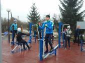 В Бугуруслане на территории спортшколы «Олимп» открыли площадку ГТО в рамках нацпроекта «Демография»