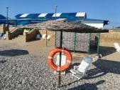 Только дин из шести пляжей комплекса соленых озер Соль-Илецкого городского округа был допущен к эксплуатации