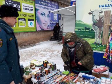 В Оренбуржье закрыли точку по продаже опасной пиротехники