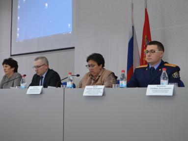 В актовом зале администрации прошло ежегодное итоговое заседание комиссии по делам несовершеннолетних и защите их прав