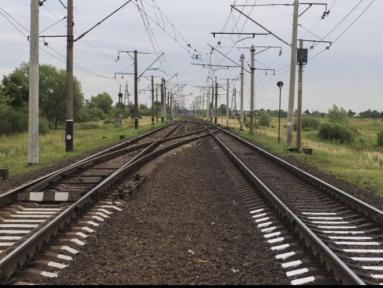 В Самарской области грузовой поезд едва не сбил женщину и четверых детей