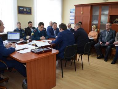 Прошло очередное заседание комиссии по предупреждению и ликвидации чрезвычайных ситуаций и обеспечению пожарной безопасности на территории муниципального образования «город Бугуруслан»