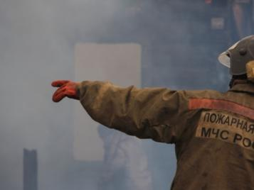 В Бугуруслане на пожаре погиб 65-летний мужчина.
