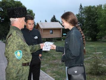 В Бугуруслане полицейские и дружинники проводят мероприятия по профилактике мошенничества